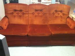 Orange Sofa Chair 2011 World U0027s Ugliest Couch Contest Has Begun