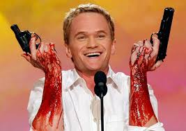 tv neil patrick harris gets his freak show wish bloody