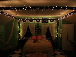 bedroom awesome christmas lights ceiling bedroom 9