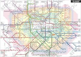 Metro Blue Line Map Delhi by Subway Networks From Around The World 650x1083 Mapporn
