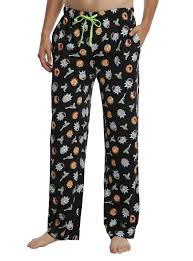 rick and morty guys pajama topic
