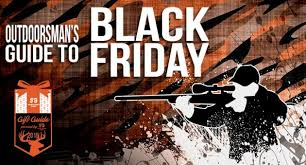 black friday shootings the sportsman u0027s guide black friday hunting and fishing deals