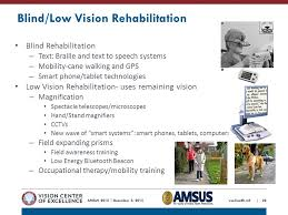 Blind Rehabilitation A Clinical Recommendation Ppt Video Online Download