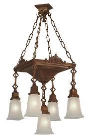 Arts And Crafts Ceiling Light Vintage Hardware Lighting Regarding New Property Arts And Crafts