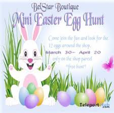 belstar boutique mini easter egg hunt teleport hub pinterest