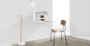 si e de mural rabattable esme bureau mural rabattable blanc bureau