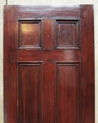 colonial style six recessed panel door with applied molding olde