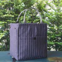 Jual Mummy kelebihan beli portable original handmade bag student striped
