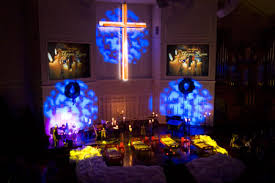 cool lights for room christmas at upper room churchtecharts