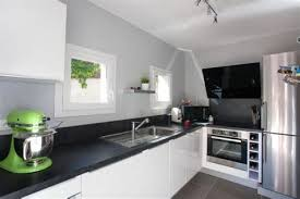 cuisine et blanche meuble salle de bain noir et blanc 6 cuisine blanche noir et
