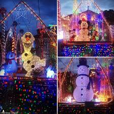 australian homes light up for spectacular christmas displays