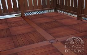 wood decking tiles