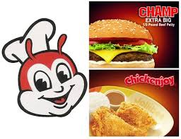 jollibee champ burger and chicken joy