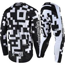 motocross jersey design new troy lee designs 2018 mx gp air maze white black tld motocross