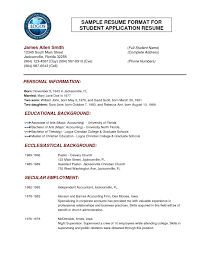 Sample College Resumes Resume Example by Examples Of Resumes Make Resume Format Mnc Brefash Intended For