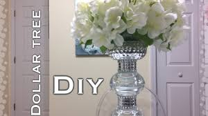 dollar tree glam centerpiece diy youtube centerpieces