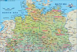 Hannover Germany Map by Map Of Northern Germany Germany Map In The Atlas Of The World