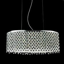 blue crystal chandelier light brizzo lighting stores 26 rainbow modern oval crystal chandelier
