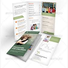 tri fold brochure template free download 27 best contoh brosur sekolah pendidikan free download templates
