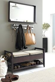 Entryway Storage Bench With Coat Rack Cool Entryway Benches Entryway Bench How To Painted Furniture
