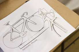 bike sketches from 5 different designers bicycle design