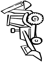 construction equipment coloring pages clipart panda free