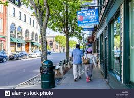 288 best home bar images bar harbor usa june 8 2017 back of couple walking on sidewalk