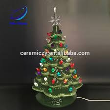 porcelain christmas tree with lights tabletop ceramic christmas tree wholesale with lights tabletop