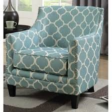 Teal Accent Chair Geometric Accent Chairs Birch Lane