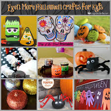 Halloween Crafts Printable by Halloween Crafts For Kids