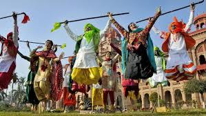photos from lohri to bhogali bihu festive celebrations across