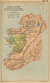 Map Of Ireland And England Historical Maps Of The British Isles