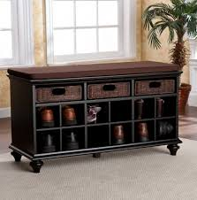 Entry Bench With Shoe Storage Small Entryway Bench With Shoe Storage Home Design Ideas