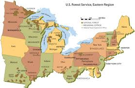 Ocala National Forest Map Atkinson Named Regional Forester For U S Forest Service