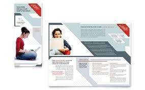 technical brochure template trifold brochure software fieldstation co