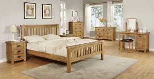 bedroom inspiring bedroom design with brown golden oak bed frame