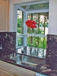 kitchen window garden greenhouse windows for kitchen counter flows into the bottom of