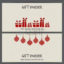 gift cards on sale christmas and new year gift voucher certificate coupon template