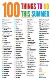 summer list printable summer activities kid activities