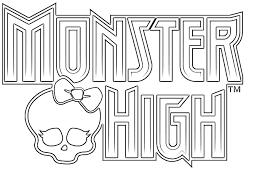 dibujos para colorear monster high for gils pinterest