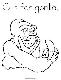 coloring page of gorilla gorilla coloring page coloring page funny gorilla coloring pages