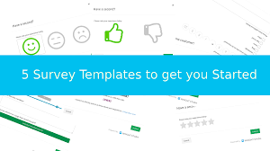 5 survey form templates to get you started insight stash