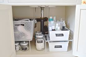bathroom sink organizer ideas how to organize under a bathroom sink