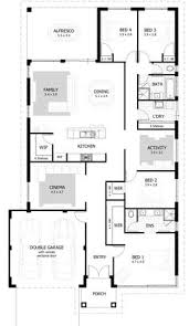 narrow lot single storey homes perth cottage home designs story