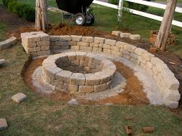 building a backyard fire pit creatively luxurious diy fire pit project here to enhance your
