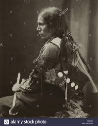 sioux native american indian man 1890 stock photo royalty free