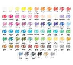 color escapes premium 72 ct colored pencils crayola