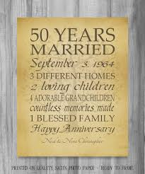 customized anniversary gifts best 25 50th anniversary cards ideas on wedding