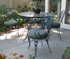 Mesh Wrought Iron Patio Furniture by Wire Outdoor Furniture