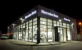 mercedes uk dealers mercedes dealer roanza truck launches 1m liverpool